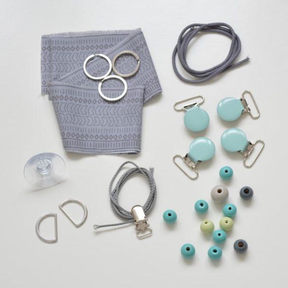 Schnullerband selbermachen: DIY-Projekt von ilma pallo