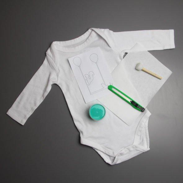 Bodygestaltung pastellgrün: DIY-Kit von ilma pallo inkl. Materialien