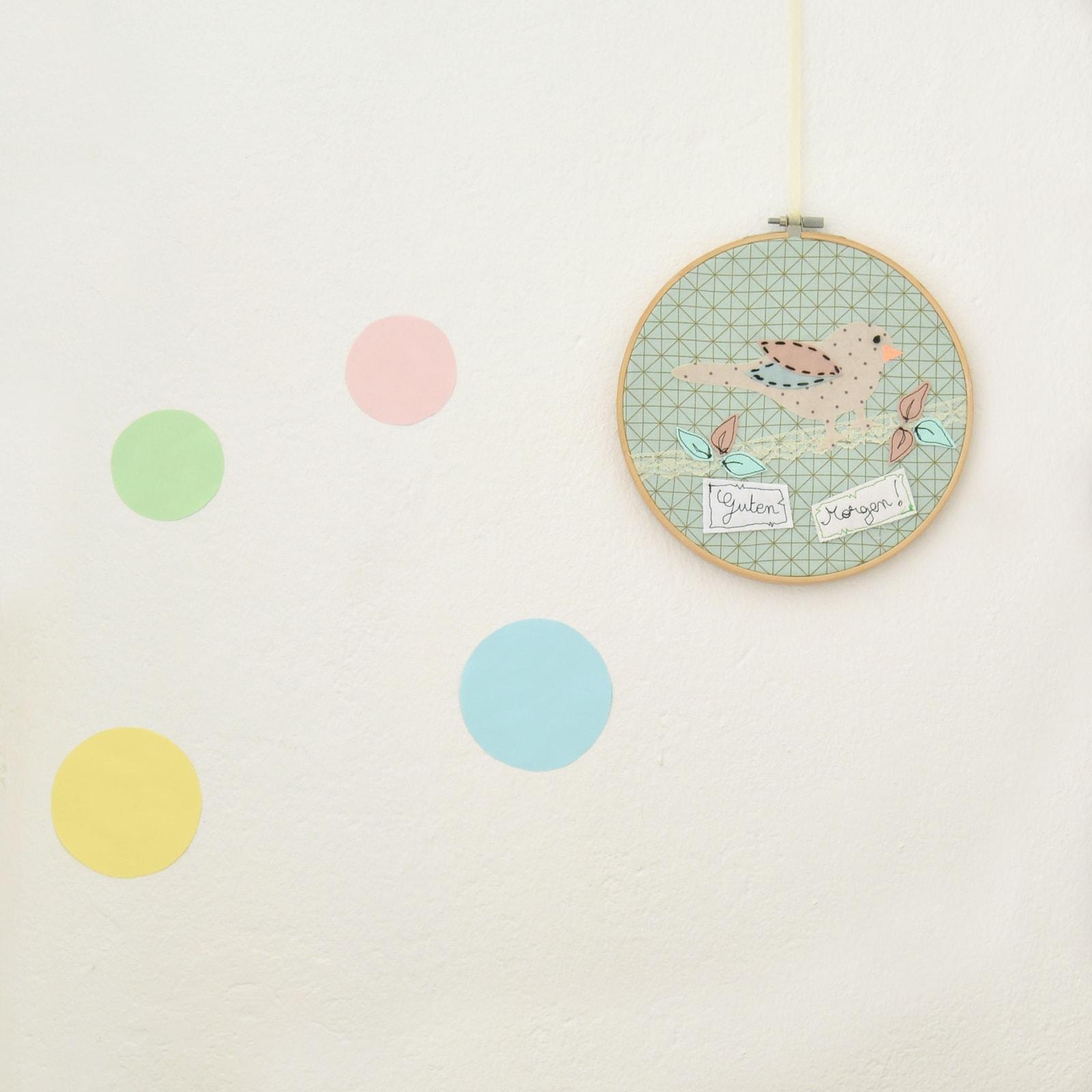 Bastelpaket | Stickrahmen | Babyzimmer-Deko | ilma pallo | DIY-Kits ...