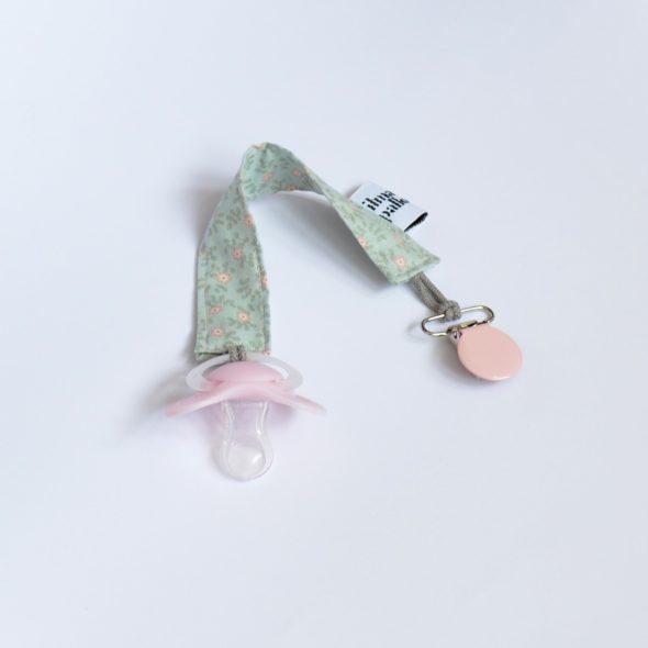 Schnullerband von ilma pallo rosa-mint