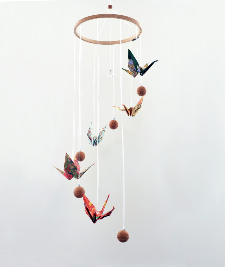 mobil basteln ilma pallo kranich kristall ilma pallo diy kits diy kits zu den. Black Bedroom Furniture Sets. Home Design Ideas