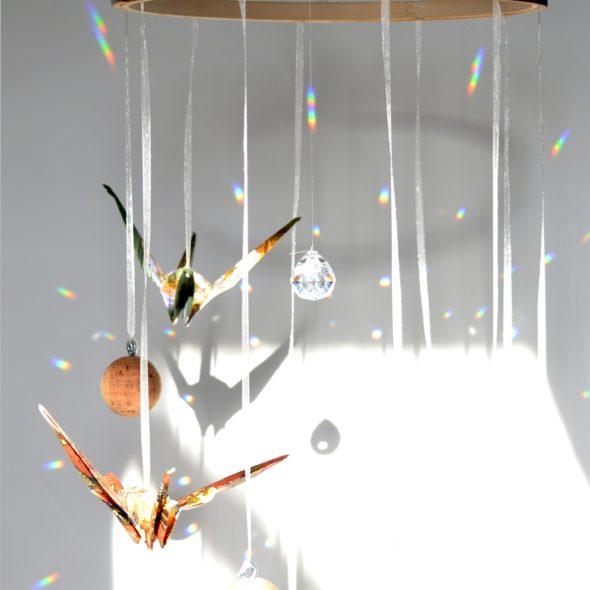 stilvolles Mobilé selbst basteln für Baby mit DIY-Kit von ilma pallo