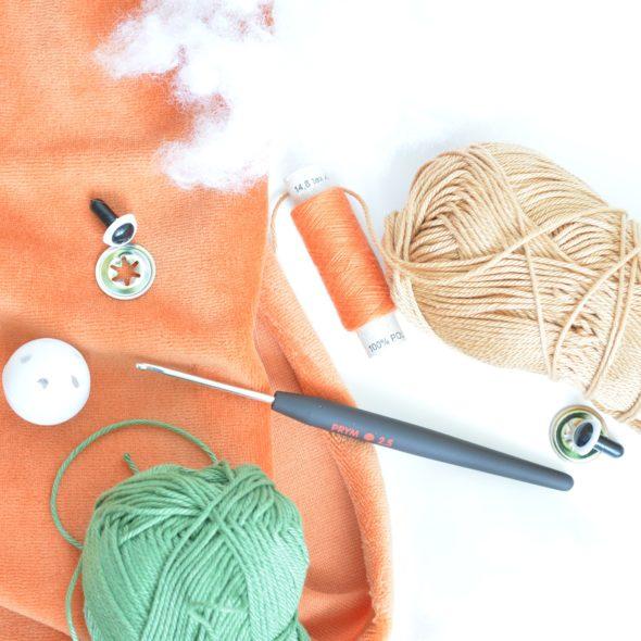 DIY-Kit hörnchen & die klappernuss: Material