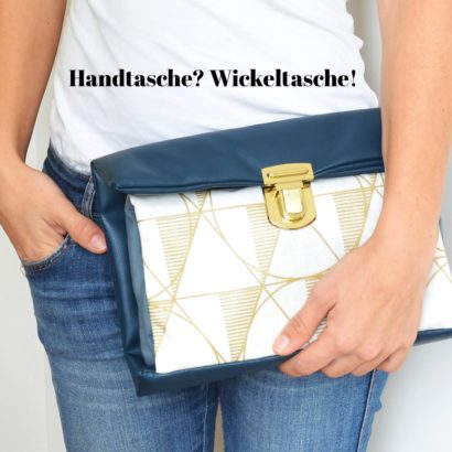Wickelset 2 in 1: Windeltasche & Wickelunterlage